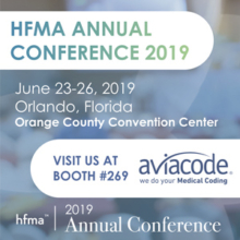 Aviacode is exhibiting at the HFMA Annual Conference 2019